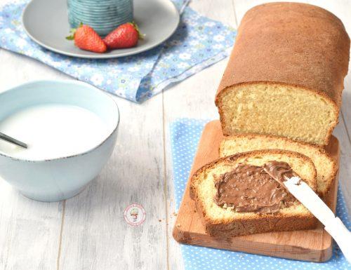 Pan brioche dolce con miele senza latte
