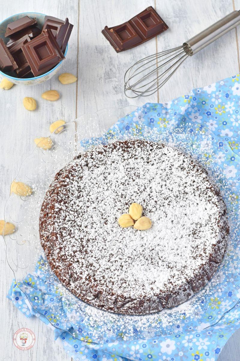 torta caprese ricetta light senza burro