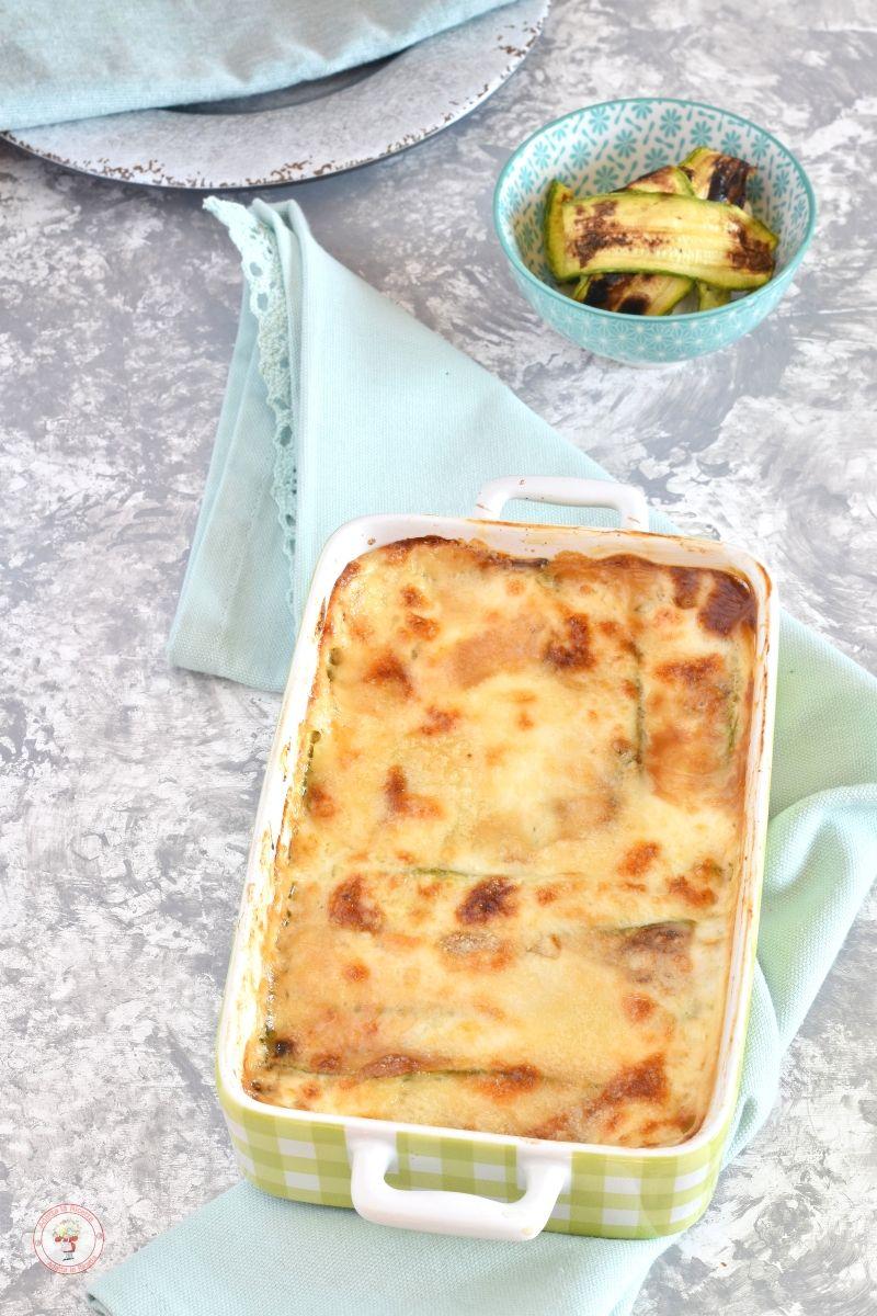 Parmigiana di zucchine grigliate