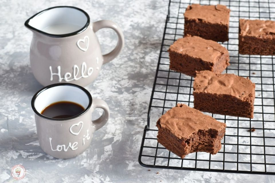 Brownies cioccolato e cannella
