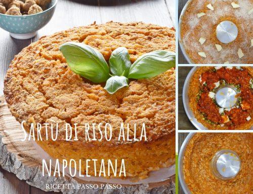 Sartù di riso alla napoletana ricetta passo passo