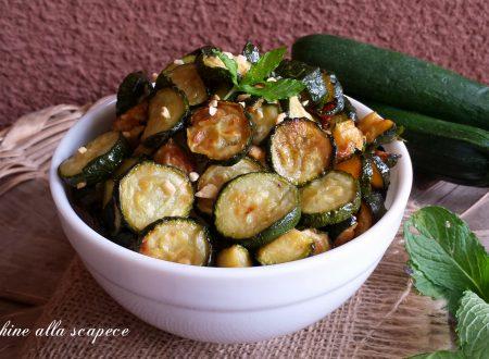 Zucchine alla scapece ricetta tipica campana