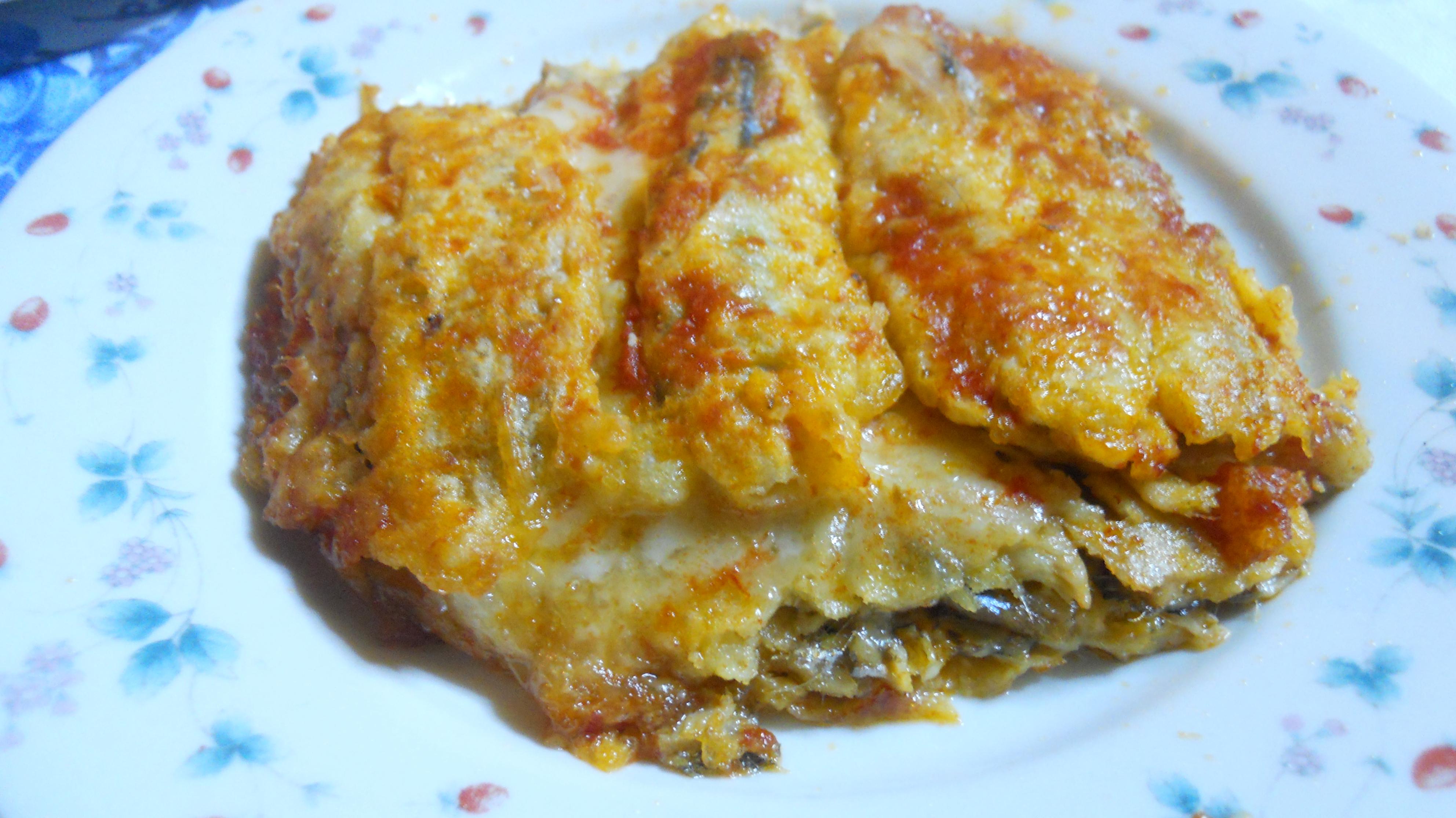 Parmigiana alle alici, ricetta di pesce