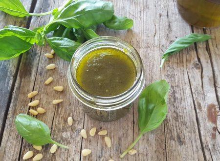 Pesto ligure, ricetta per salse