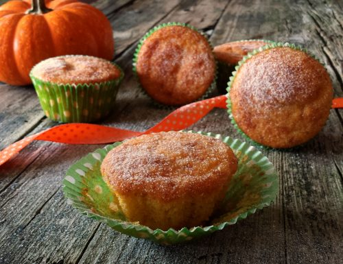 Muffin zucca e yogurt, ricetta dolce