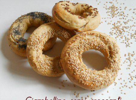 Ciambelline semi croccanti, ricetta lievitata