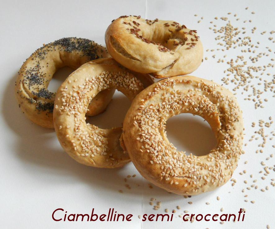 ciambelline semi croccanti