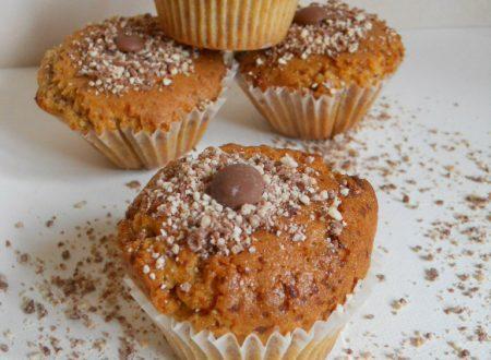 Muffin morbidissimi con cioccolato kinder