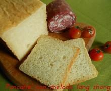 Pancarre con metodo tang zhong, ricetta lievitata