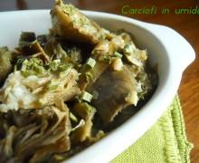Carciofi in umido, ricetta vegetariana
