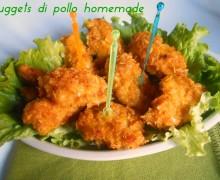 Nuggets di pollo homemade, secondo piatto