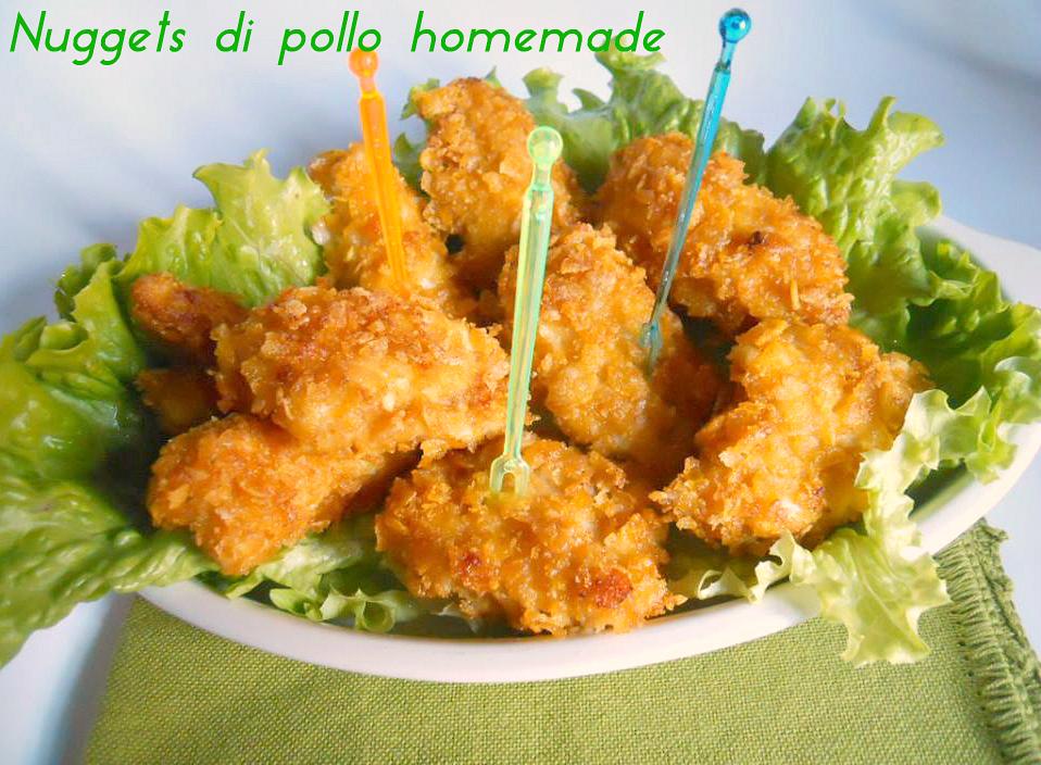 nuggets di pollo homemade