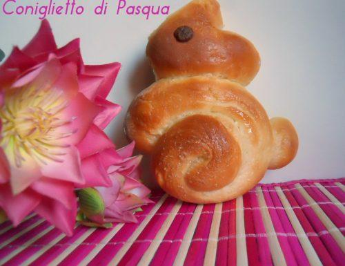 Coniglietto di Pasqua, ricetta lievitata