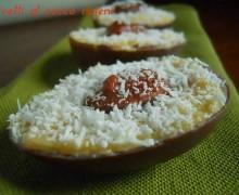 Ovetti al cocco ripieni, ricetta dolce