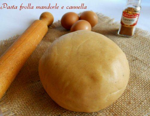 Pasta frolla mandorle e cannella
