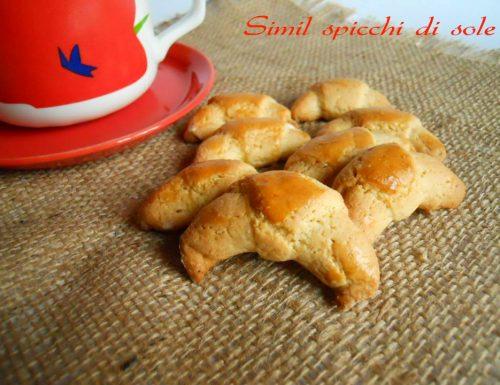 Simil spicchi di sole, ricetta biscotti