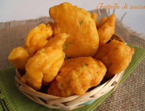 Frittelle di zucca ricetta antipasto