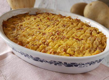 Gateau di patate ovvero gattò di patate napoletano