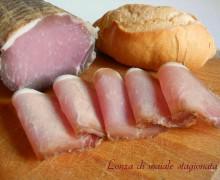 Lonza di maiale stagionata