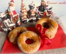 Roccoco morbidi,ricetta natalizia