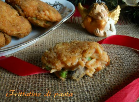 Frittatine di pasta, ricetta finger food