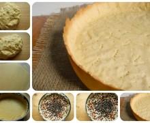 Pasta frolla per cottura in bianco, pate sucrée