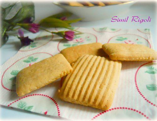 Biscotti simil rigoli