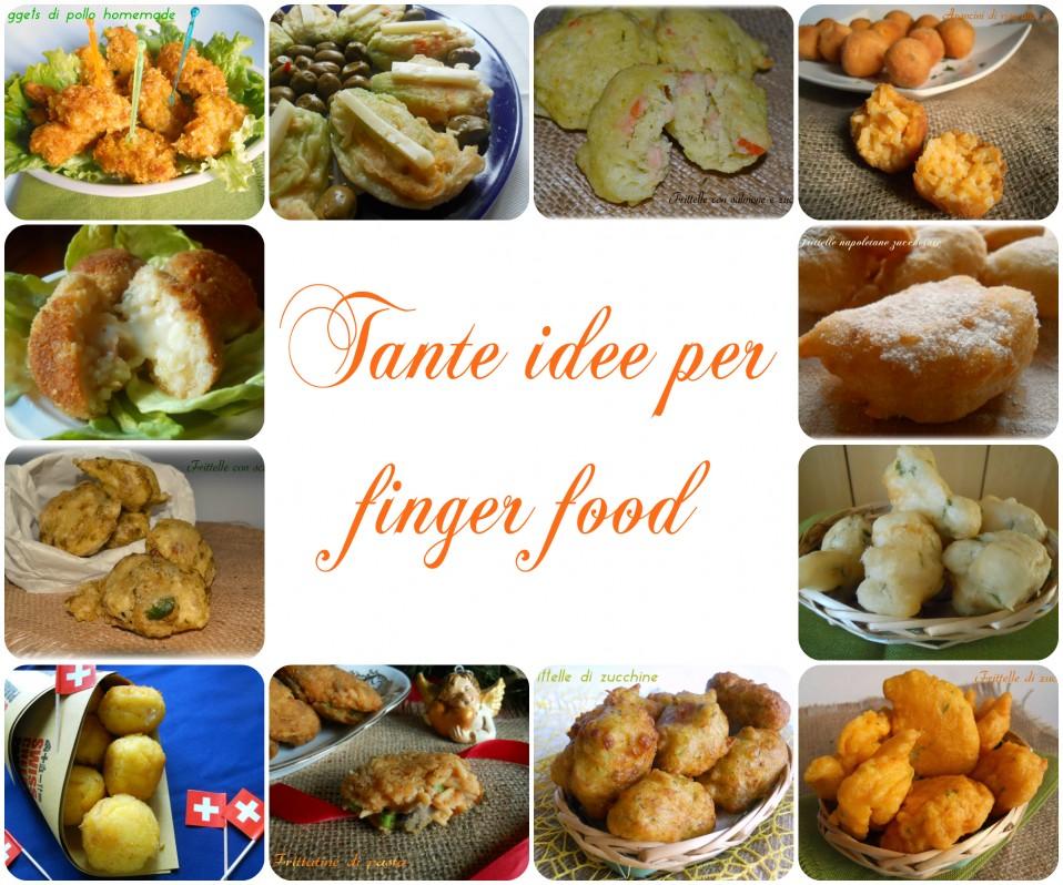 Idee per finger food, ricette varie