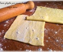 Pasta sfoglia pasta fresca senza uova