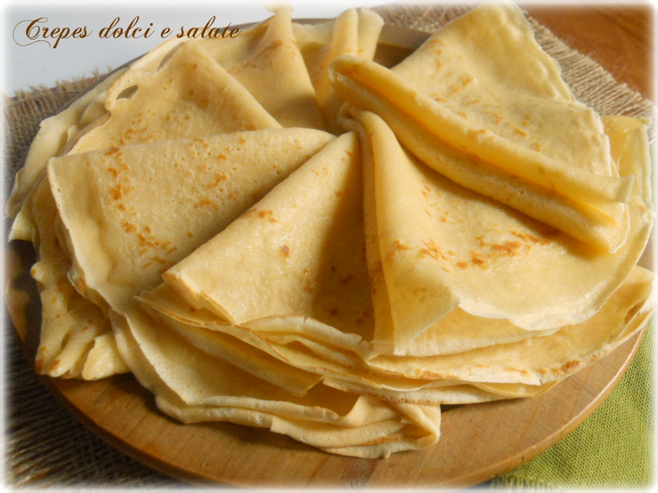 Ricette dolci crepes