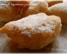 Frittelle napoletane zuccherate