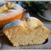 torta morbida con crema al latte