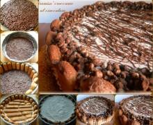 Tiramisù croccante al cioccolato