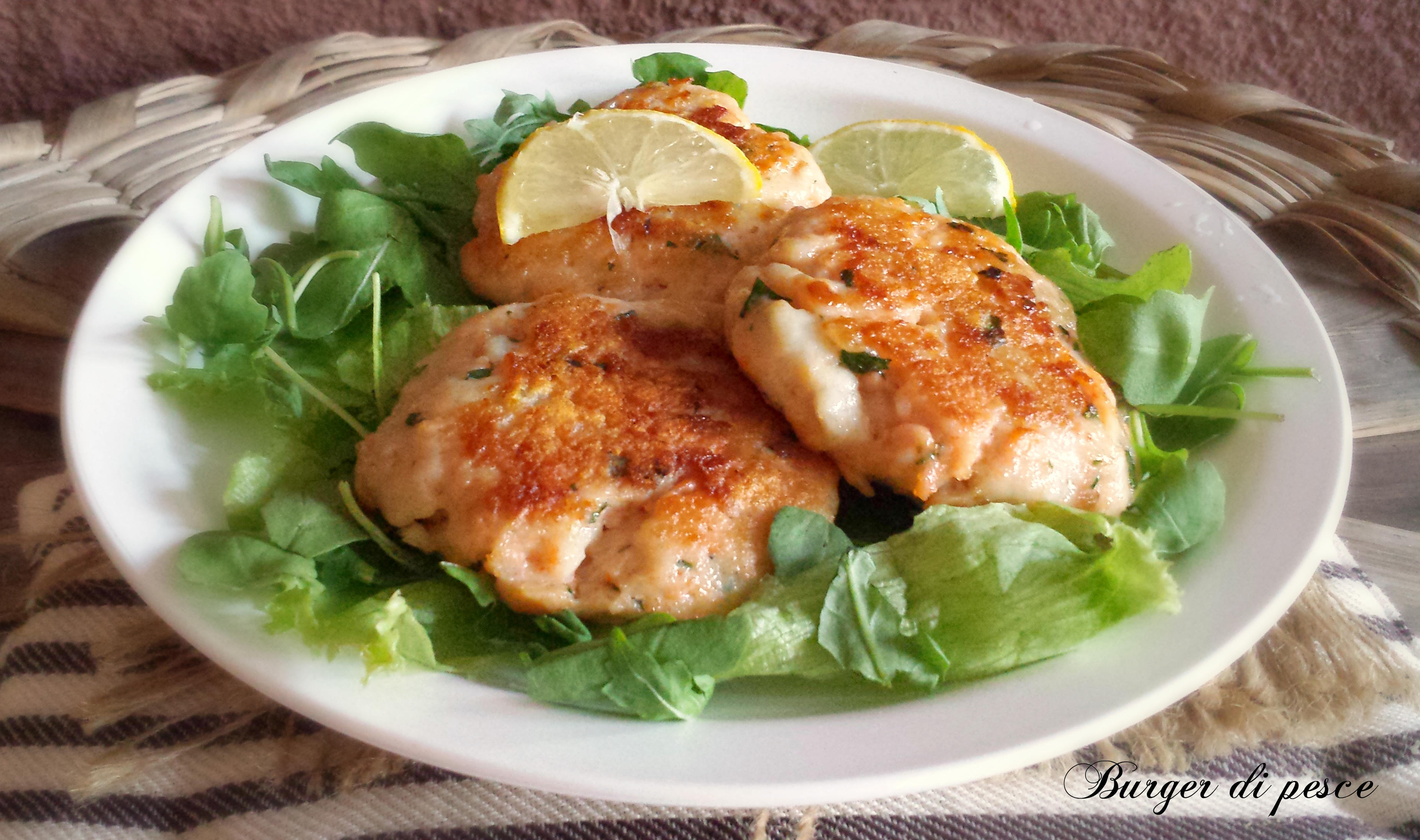 Burger di pesce secondo piatto for Secondi piatti di pesce