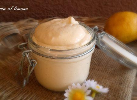 Crema al limone,ideale per farciture