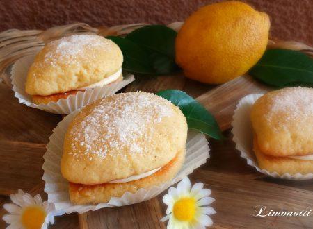 Limonotti deliziosi biscotti farciti al limone