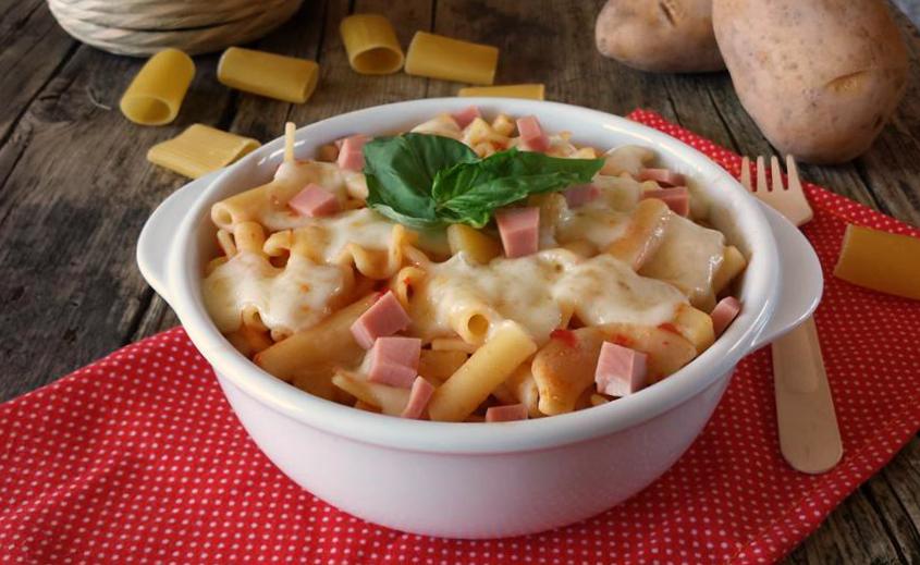 Ricetta pasta e patate napoli