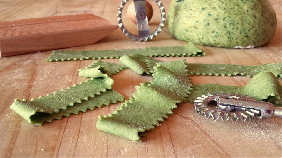 Ricetta pasta fresca verde