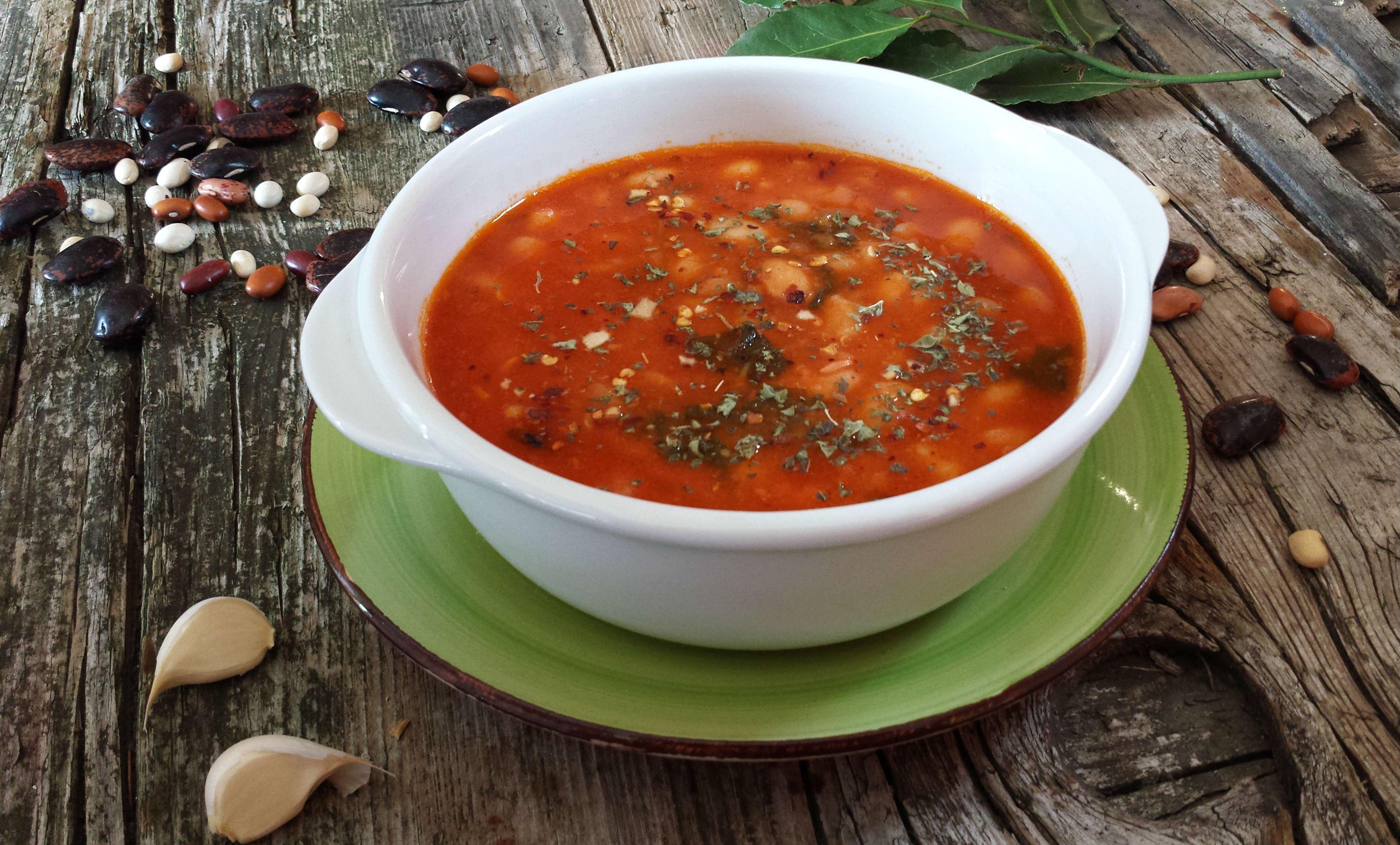 zuppa di fagioli speziata