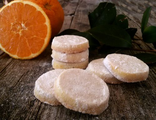 Orange meltaways, biscotti che si sciolgono in bocca
