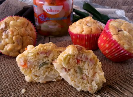 Muffin di giardiniera, ricetta finger food