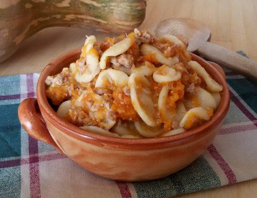 Gnocchi zucca e salsiccia, ricetta primo piatto