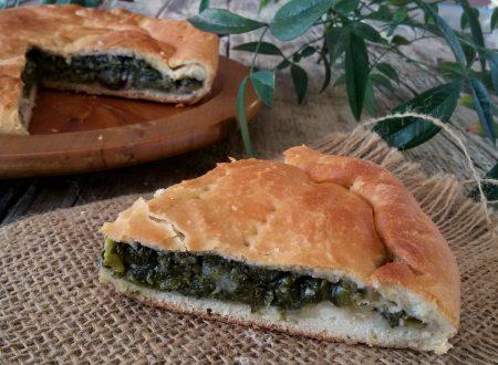 Pizza con l'erba ricetta della tradizione Irpina