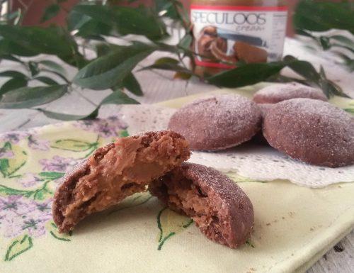 Biscotti cremosi allo speculoos, ricetta dolce