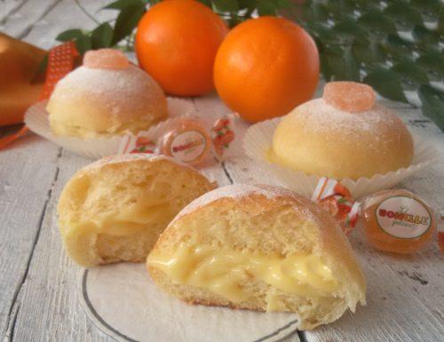 Panini dolci all'arancia, soffici e morbidi