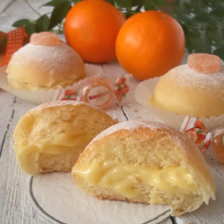 panini dolci all'arancia