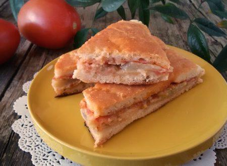 Pizza alla parmigiana, ricetta rustica