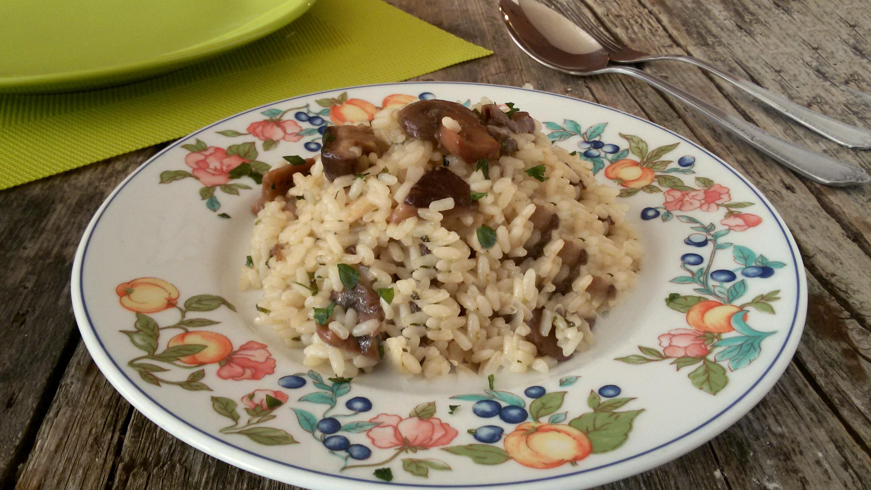 Risotto ai funghi porcini ricetta tradizionale