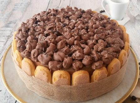 Torta mocaccina golosa torta al caffè