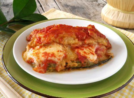 Parmigiana di zucchine cremosa con cottura in padella